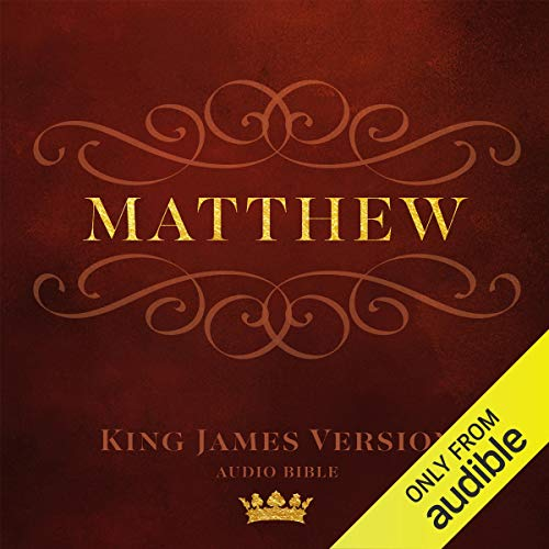 Book of Matthew audiobook cover art
