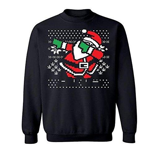 Dabbing Santa Ugly Christmas Sweater   Worst Ugly Christmas