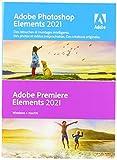 Adobe Photoshop Elements 2021 & Premiere Elements 2021 - Version boîte - 1 utilisateur - Win, Mac - français