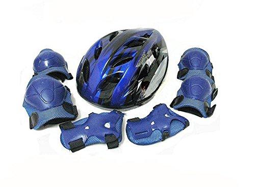 HJXJXJX Kit de sécurité rouge et bleu surface matérielle unisexe enfant facultatif , blue , S
