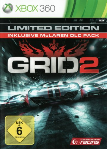 Grid 2 - Limited Edition  (inklusive Mclaren DLC Pack)