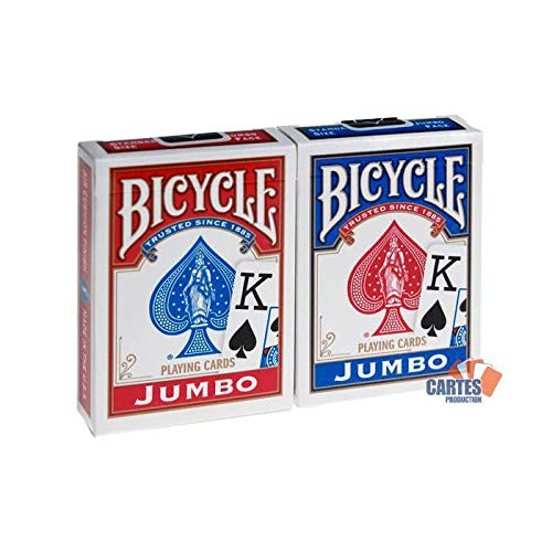 Mazzo BICYCLE Indice grande (US Playing Card Company)