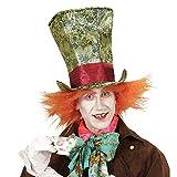 Cappelli in tessuto Cappelli uomo Cappello fiabesco Accessorio cilindro cappellaio pazzo con capelli ideale per carnevale, tutte le feste in maschera