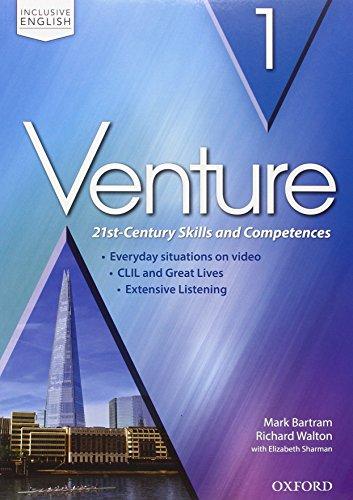 Venture. Premium 2.0. Student book-Workbook-Openbook. Per le Scuole superiori. Con e-book. Con espansione online (Vol. 1)