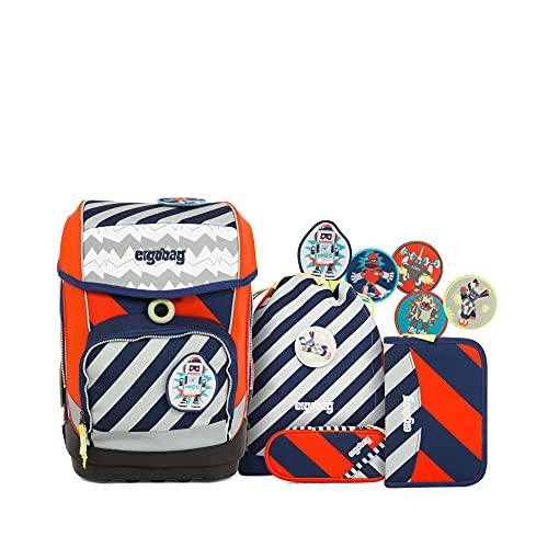 Ergobag Cubo Special Edition Stripes zaino scuola (set 5 pz.) 40 cm Bär2-D2