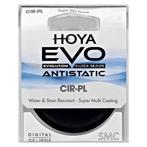 Low-Profile Filter Frame Hoya Evo Antistatic UV Filter Dust // Stain // Water Repellent 62mm