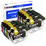 INK4WORK LC3013XL 10-Pack Compatible Ink Cartridges Replacement for Brother LC-3013 LC3013 LC3011 LC-3011 XL for use with MFC-J491DW MFC-J497DW MFC-J690DW MFC-J895DW (4BK, 2C, 2M, 2Y)