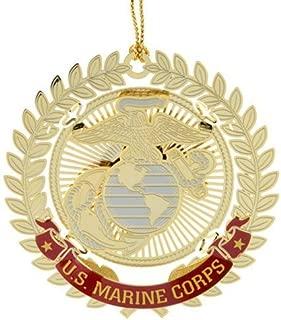 ChemArt United States Marine Corps Logo Ornaments