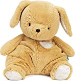 GUND Baby Oh So Snuggly Puppy Large Plush Stuffed Animal Understuffed and Quilted for Tactile Play and Security Blanket Feel, for Baby and Infant, Orange and Cream, 12.5'