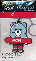 韓国 K-POP ☆iKON アイコン☆ゴム製キーホルダー