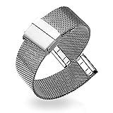 Correas para Relojes - Correa de Reloj de Acero Inoxidable Milanese Mesh para Mujeres 20mm