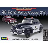 アメリカレベル 1/25 '48 フォード ポリスクーペ プラモデル