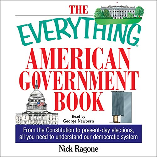 The Everything American Government Book audiobook cover art