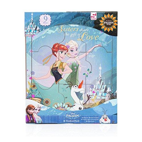 frozen disney La Reina de las Nieves puzzle niñas