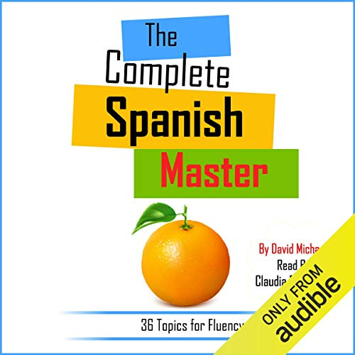 The Complete Spanish Master audiobook cover art
