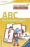 53 Karten mit farbigen Illustrationen Für 1-4 Spieler 4 verschiedenen Spiel-Varianten aus der Reihe Lern-Detektive von Ravensburger