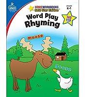 Word Play: Rhyming: Grades K-1 (Homeworkbooks Gold Star Editions)