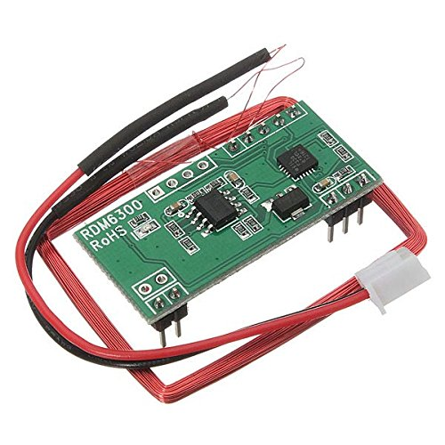 CoCocina 125Khz Em4100 RFID Card Read Module Rdm630 Uart Geekcreit for Arduino - Products That Work with Official Arduino Boards
