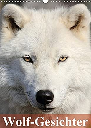 Wolf-Gesichter (Wandkalender 2017 DIN A3 hoch): Wölfe sind zum heulen schön! (Monatskalender, 14 Seiten)