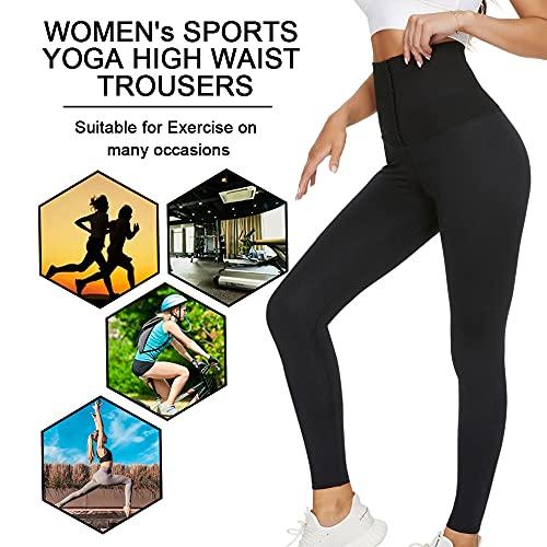 OUTUOSI Leggins Deportivos Mujer Mallas Push Up Mujer Cintura Alta Cadera de Melocotón Leggins Anticeluliticos Mujer Push PP Fitness Yoga