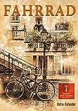 Fahrrad - Retro-Kalender (Premium, hochwertiger DIN A2 Wandkalender 2022, Kunstdruck in Hochglanz)