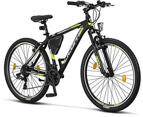 Licorne - Mountain bike Premium per bambini, bambine, uomini e donne, con cambio Shimano a 21 marce,...