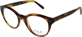 PH 2174 5007 Striped Havana Plastic Round Eyeglasses 51mm