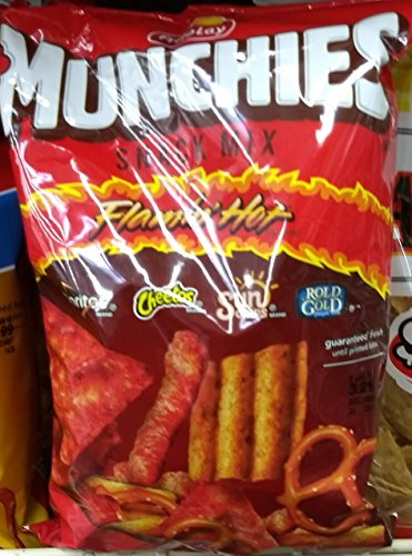 Munchies Flamin' Hot Flavored Snack Mix 8oz, pack of 1