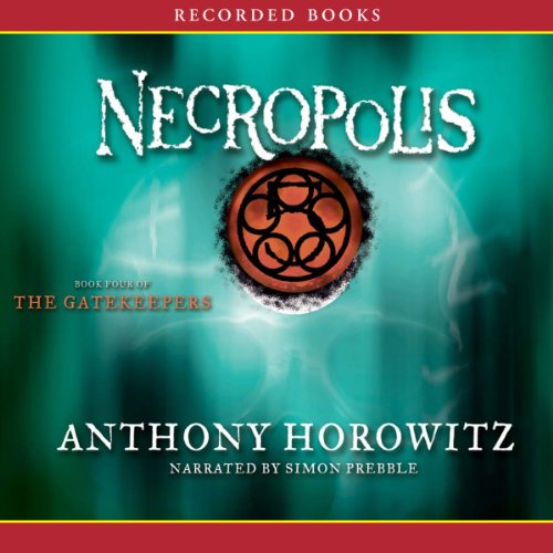 Necropolis audiobook cover art