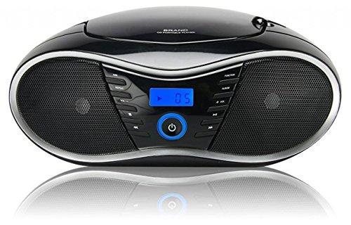 BigBen Interactive CD58 Radiorekorder (CD-Player,MP3)