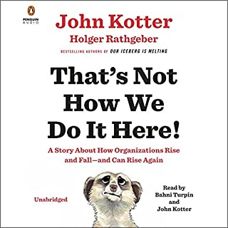 That's Not How We Do It Here! audiobook cover art