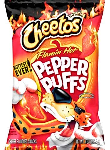 Cheetos Flamin' Hot Pepper Puffs