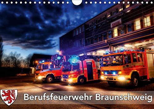 Berufsfeuerwehr Braunschweig (Wandkalender 2021 DIN A4 quer)
