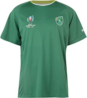 Ireland Rugby World Cup 2019 Team Polyester T-Shirt Mens Green Fan Top Tee Shirt