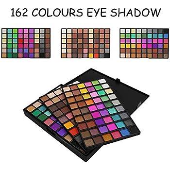 Paleta de Sombra de Ojos, TOFAR Maquillaje Caja Profesional para Maquillaje Accesorio cosmético de Belleza 162 Colores Mate Paleta de Colores Shimmer Set: Amazon.es: Belleza