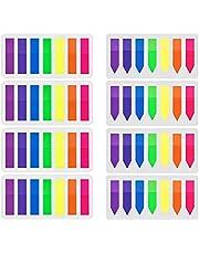 Koogel 2240 szt. znaczków, 16 zestawów mini pasków samoprzylepnych, plastikowa kartka, znaczniki indeksujące, flagi karteczki do karteczek samoprzylepnych, 7 kolorów etykiet do zapisywania