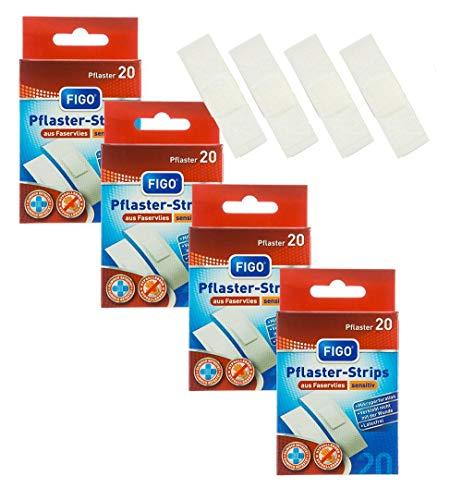 varivendo Notizblock + Figo Pflaster-Strips Sensitiv (80 Pflaster + Notizblock)