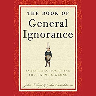 The Book of General Ignorance audiobook cover art