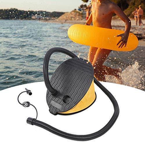 SALUTUYA Bomba de pie para Accesorios de Piscina de Larga duración de Gran Volumen, para Anillos de natación(Inflatable Pump)
