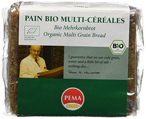 PEMA Pain Bio Multi Céréales 500 g - Lot de 3