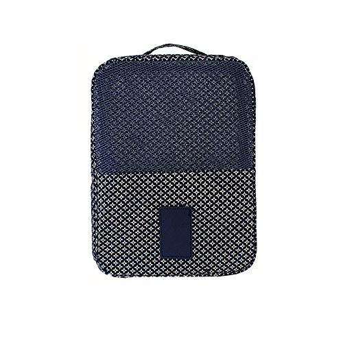 Travel Shoe Bag, Portable Large-Capacity Dust-Proof Storage Bag with Zipper Opening and Closing for Travel Household Storage and Dust-Proof