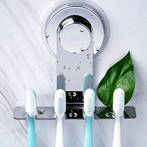 Ruosaren Tandenborstelhouder Zuignap voor badkamer en douche, Tandenborstelhouder Wandbevestiging, WALL, TILE, elke Surface Mount