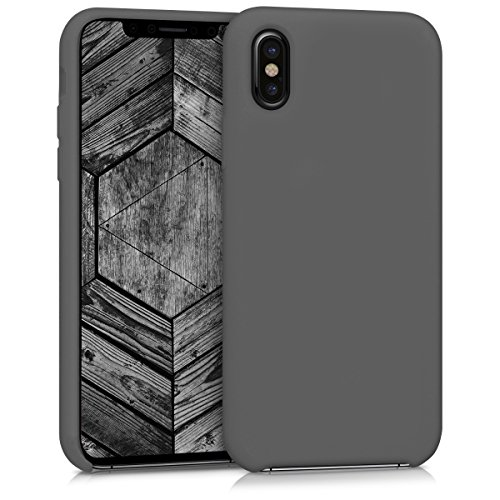 kwmobile Cover Compatibile con Apple iPhone X - Custodia in Silicone TPU - Back Case Protezione Cellulare Nero