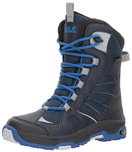 Jack Wolfskin Jungen Boys Snow Ride Texapore Trekking-& Wanderstiefel, Blau (Vibrant Blue), 29 EU