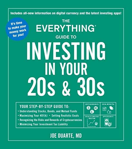 The Everything Guide to Investing in Your 20s 30s Your Step by Step Guide to Understanding Stocks product image