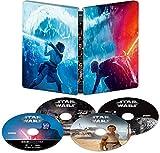 スター・ウォーズ/スカイウォーカーの夜明け 4K UHD MovieNEX スチールブック [4K ULTRA HD+3D+ブルーレイ+デジタルコピー+MovieNEXワールド] [Blu-ray]