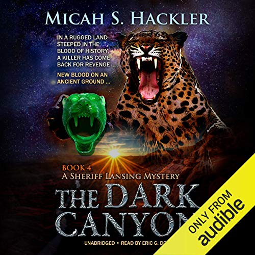 The Dark Canyon audiobook cover art