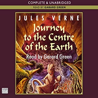 Journey to the Centre of the Earth audiobook cover art