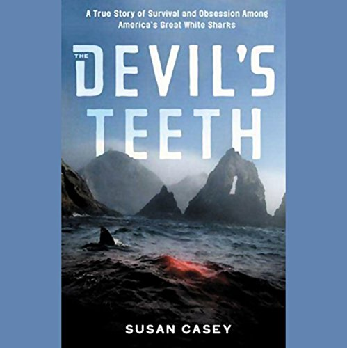 The Devil's Teeth audiobook cover art