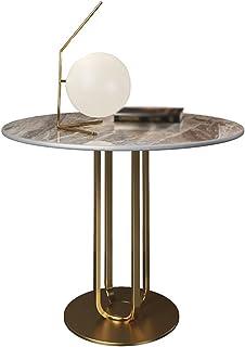 CJDM Table Basse, Meuble d'appoint de canapé Moderne de Luxe léger Petite Table Ronde Table Basse, Table d'appoint de Salo...